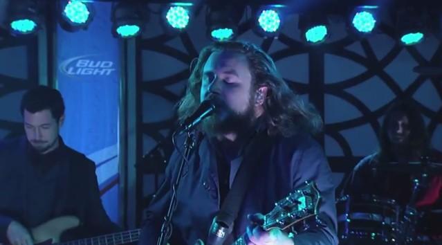 My Morning Jacket on Kimmel
