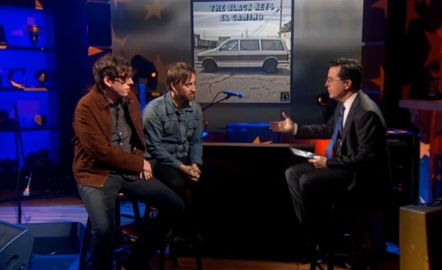 The Black Keys on Colbert