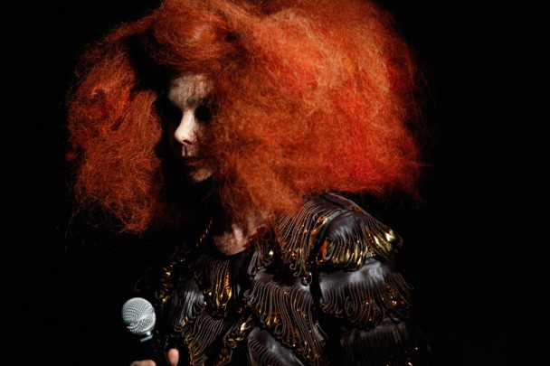 Björk To Appear On <em>The Colbert Report</em> Tonight