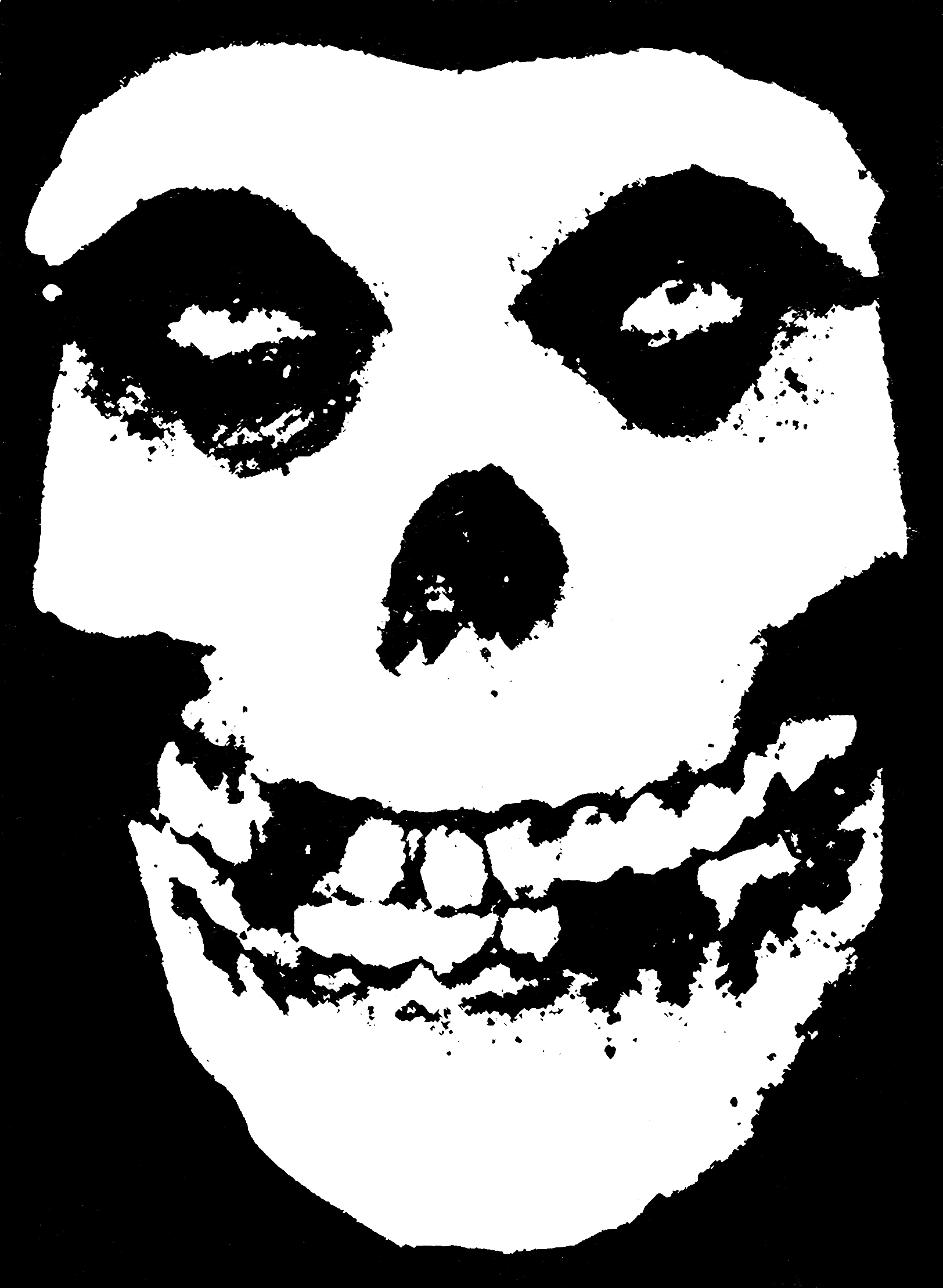 The Misfits Skull Logo Wavves Covers T...