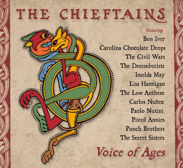 """The Chieftains – """"Down in the Willow Garden"""" (Feat. Bon Iver)"""