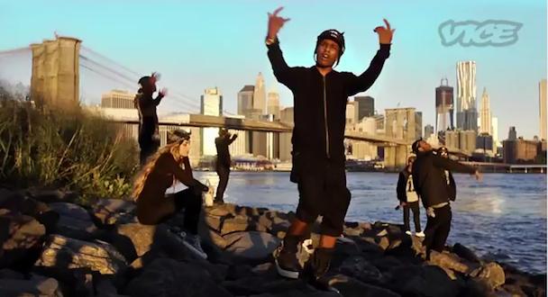 """ASAP Rocky – """"Wassup"""" Video (NSFW)"""