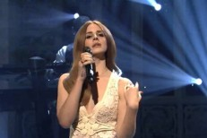 Lana Del Rey on SNL
