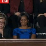 "Barack Obama's ""Spilled Milk Joke"" Followed By Michelle Obama's ""Spilled Milk Face"""