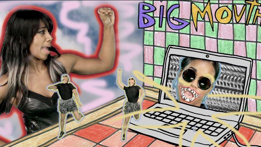 "Santigold – ""Big Mouth"""