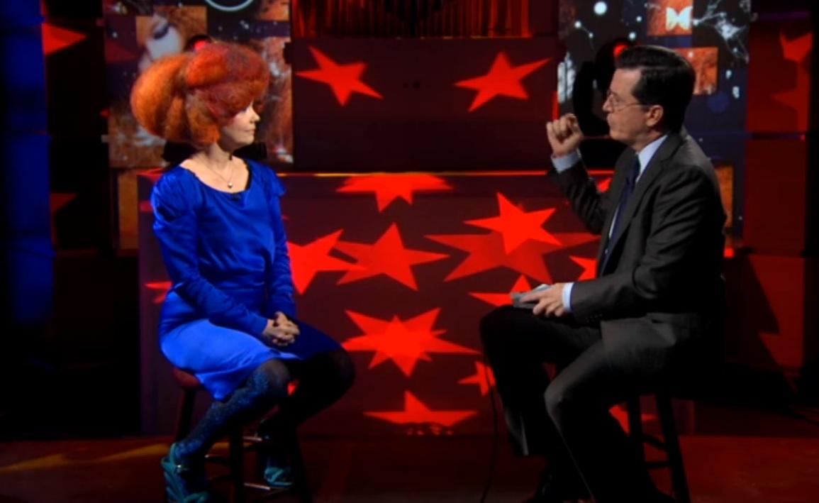 Björk Visits <em>Colbert</em>