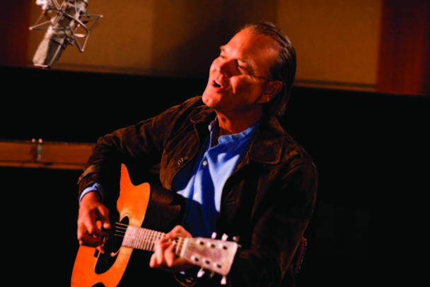 Glen Campbell In Studio