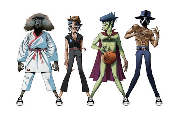 Gorillaz, James Murphy, Andre 3000 To Team Up For Converse