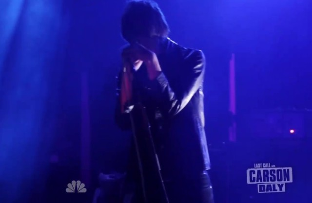 The Horrors on Carson Daly