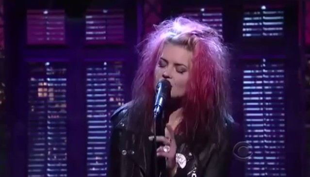 The Kills on Letterman