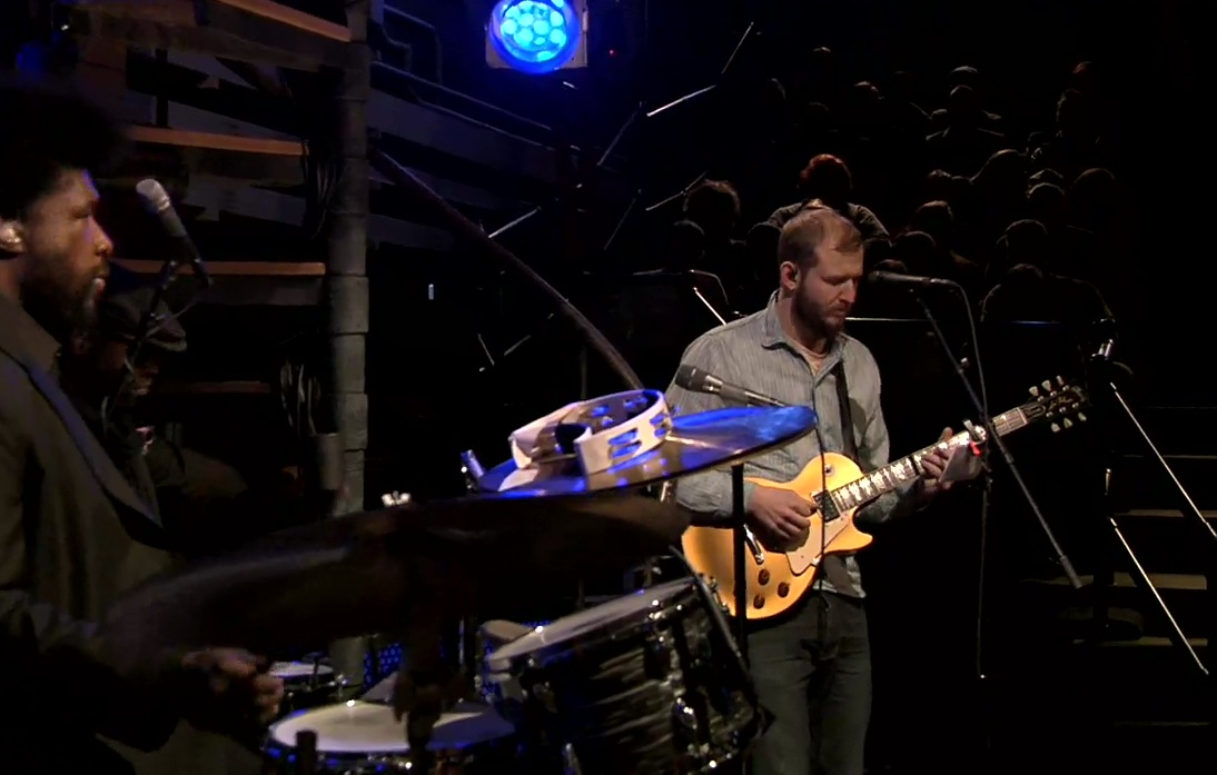 "Watch Justin Vernon Play ""Perth"" With The Roots"