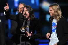 Dave Grohl Clarifies Grammy Speech