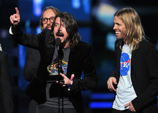 Dave Grohl Clarifies Grammy Speech