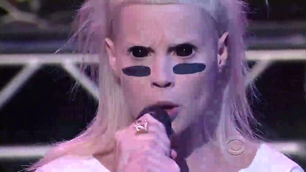 Watch Die Antwoord On 'Letterman'