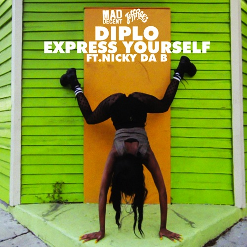 "Diplo – ""Express Yourself"""