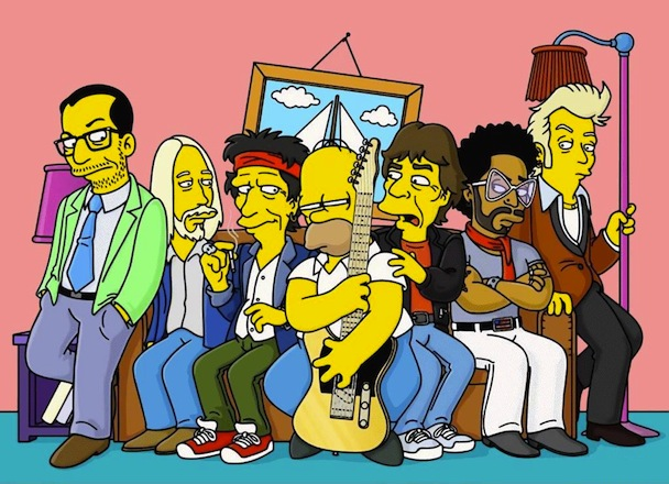 <em>The Simpsons</em>' 10 Greatest Rock Moments