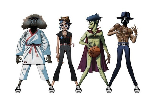 Preview Gorillaz x James Murphy x Andre 3000 Collab