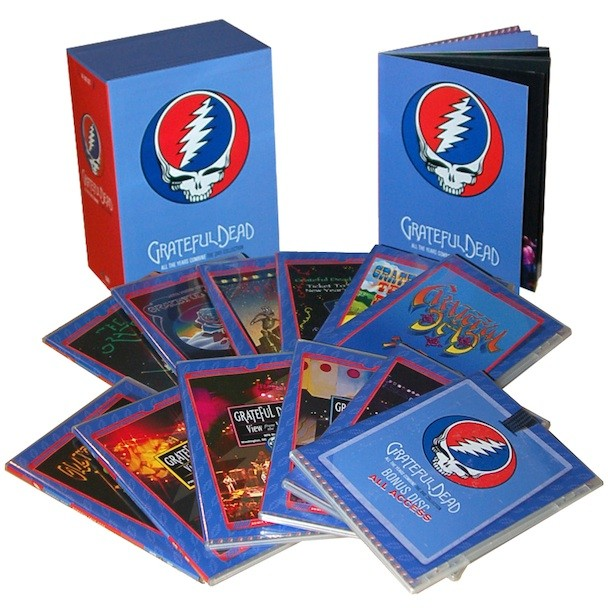 Win A 14-DVD Grateful Dead Box Set