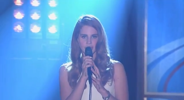 Watch Lana Del Rey On 'Jimmy Kimmel Live'