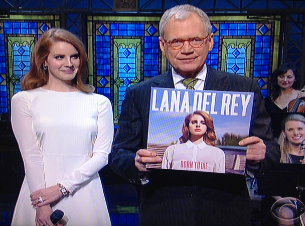 Lana Del Rey Plays Letterman 2/2/12
