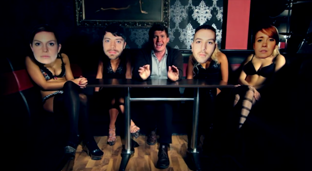 """Los Campesinos! – """"Songs About Your Girlfriend"""" Video"""