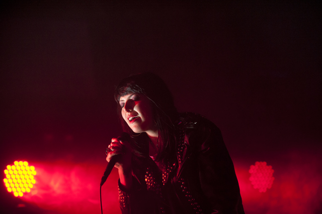 Sleigh Bells, Black Bananas @ Mayan Theater, Los Angeles 2/21/12