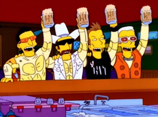 <em>The Simpsons</em>' 10 Greatest Rock Moments