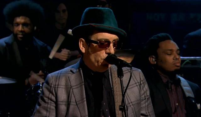 Elvis Costello on Fallon