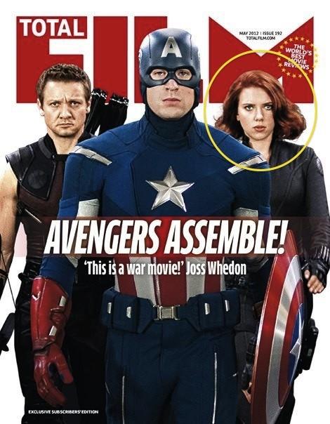 Umm Is Somebody At Total Film Magazine Mad At Scarlett Johansson