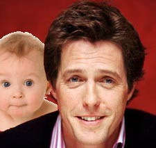 Could Someone Please Check On Hugh Grant's Child?