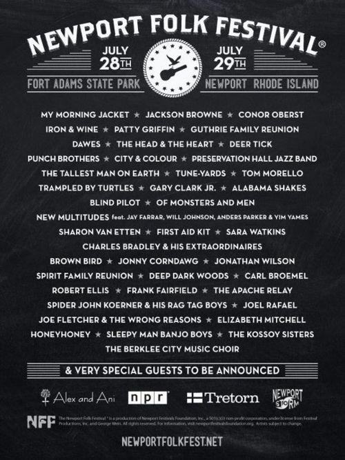 Newport Folk Festival 2012