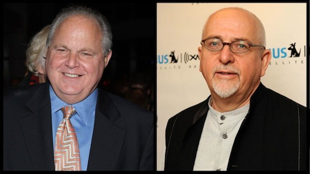 Peter Gabriel Pulls Tune From Rush Limbaugh