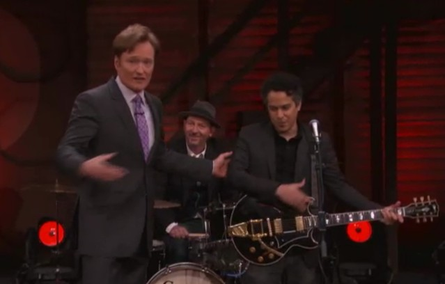 M. Ward on Conan