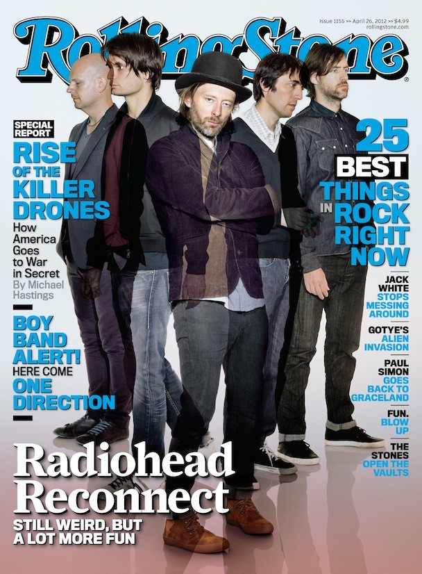 Radiohead Cover 'Rolling Stone'