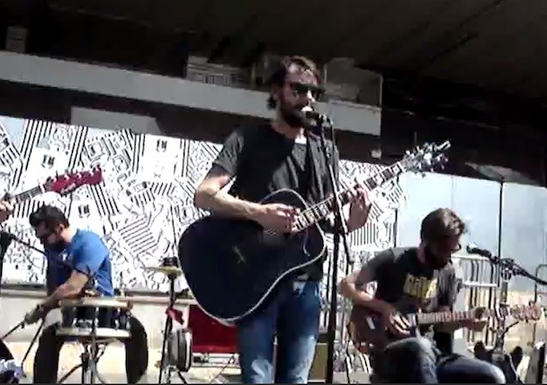 Watch Band Of Horses Play New Song