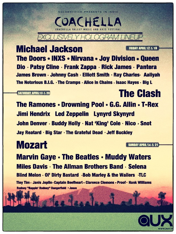 Coachella Hologram Fest