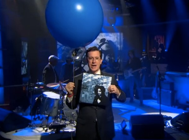 Stephen Colbert hosts Jack White