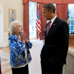 The Internet&#8217;s Requisite Picture Of President Barack Obama And <em>Saturday Night Live</em> Facebook Co-Hostess Betty White