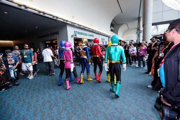 Saban's Power Rangers POWER Up San Diego Comic-Con - Day 1
