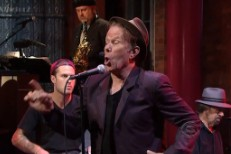 Watch Tom Waits Play 'Letterman'