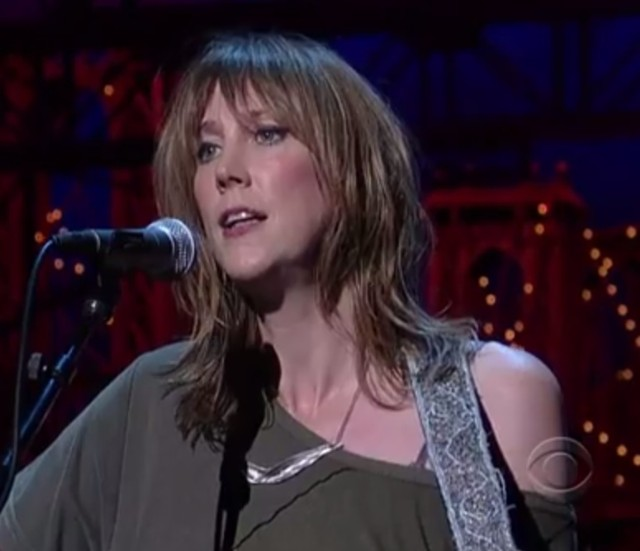 Beth Orton on Letterman