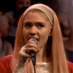 Watch Grimes On <em>Fallon</em>