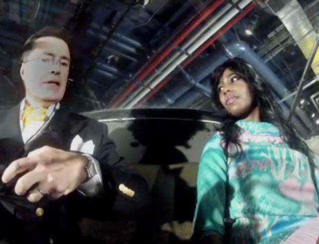 Santigold on Colbert