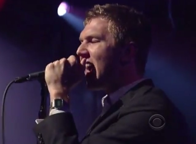 The Walkmen on Letterman