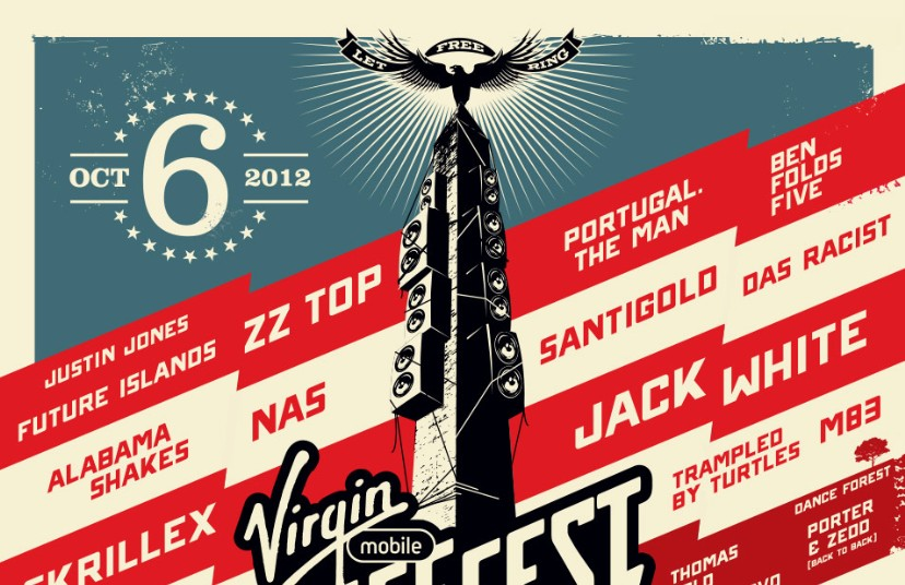 Virgin Mobile Freefest 2012 Lineup - Stereogum