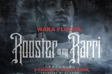 "Waka Flocka Flame – ""Rooster In My Rari (Remix)"" (Feat. Gucci Mane & 2 Chainz)"
