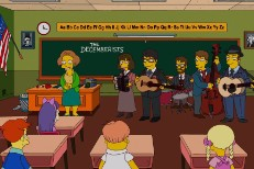 The Decemberists On The Simpsons