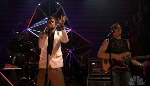 Yeasayer on Fallon 2012