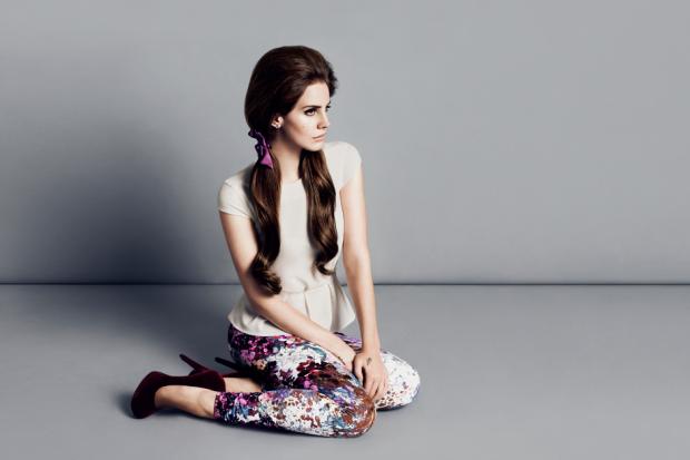 Lana Del Rey H&M Lookbook 2012