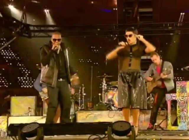 Jay-Z, Rihanna & Coldplay at the Paralympics